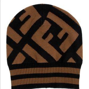 Authentic Fendi beanie hat